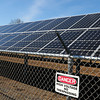 Salisbury: A small section of the solar park on Rabbit Road in Salisbury. Bryan Eaton/Staff Photo