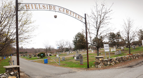BRYAN EATON/ Staff Photo. Hillside Cemetery on Route One in Seabrook just north of the Salisbury town line.
