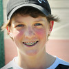 BRYAN EATON/ Staff Photo. Pentucket High tennis first singles player, freshman Connor Aulson.