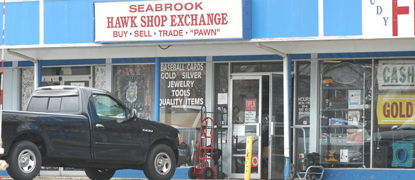BRYAN EATON/ Staff Photo. Seabrook Hawk Shop Exchange on Route One.