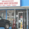 BRYAN EATON/ Staff Photo. Seabrook Hawk Shop Exchange on Route One.