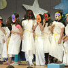 "BRYAN EATON/Staff Photo. Students act out Pandora's Box at the Cashman Elementary School on Monday. The third-graders put on a series of short plays called ""It's All Greek To Me."""