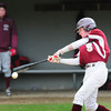 BRYAN EATON/ Staff Photo. Newburyport's Caleb Stott hits a double.