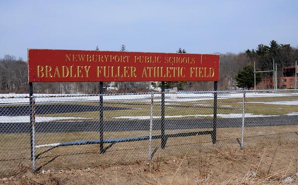 JIM VAIKNORAS/Staff photo Bradley Fuller Athletic Field, one of the properties in Newburyport hoping to get CPC money.