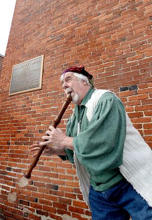BRYAN EATON/Staff Photo. Newburyport musician Jack Garvey.