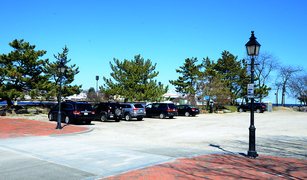 JIM VAIKNORAS/Staff photo Location of proposed pop up park in the west NRA lot in Newburyport.