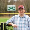 JIM VAIKNORAS/Staff photo Phil Cootey at Pioneer Park in Newburyport.