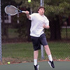 BRYAN EATON/Staff Photo. Newburyport second singles player Dylan Games.
