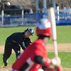 JIM VAIKNORAS/Staff photo Hamilton Wenham's Sal Guarino pitches during the General's game against Amesbury at Patton Park in Hamilton.