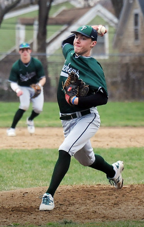 BRYAN EATON/Staff Photo. Pentucket pitcher Mitch Murray.
