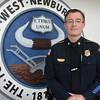 BRYAN EATON/Staff Photo. New West Newbury police Chief Art Reed.