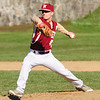 JIM VAIKNORAS/Staff photo Newburyport pitcher Jimmy Gallo against Gloucester at Newburyport.