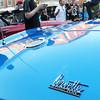 Newburyport: Brendon Mahoney, 14, of Byfield takes photos of a 1966 Corvette Stingray. Bryan Eaton/Staff Photo