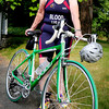 Amesbury: Lucy Blood of Amesbury is competing in the Triathlon Union's World Championship in London. Bryan Eaton/Staff Photo