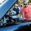 Newburyport: Steve Benson of Georgetown wipes down his 1956 Chevy Pickup 3100. Bryan Eaton/Staff Photo