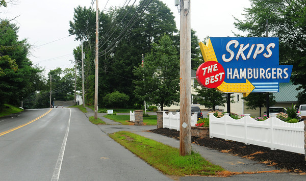 Merrimac: A dollar store that was proposed just past Skip's Hamburgers on Route 110 in Merrimac is not going to materialize. Bryan Eaton/Staff Photo