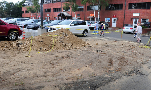 Newburyport: It will be a couple more weeks before Newburyport's Green Street Parking Lot will be paved. Bryan Eaton/Staff Photo
