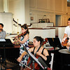 Newburyport: Performers with the Chamber Music Festival rehearse at St. Paul's Church in Newburyport. Bryan Eaton/Staff Photo
