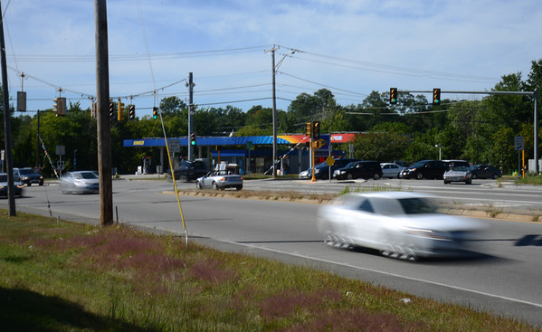 Amesbury: The new rt 110 intersection in Amesbury. Jim Vaiknoras/staff photo