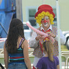 Seabrook: Patches the Clown makes ballon animals at Old Home Day at the Walton School in Seabrook Saturday. Jim Vaiknoras/staff photo