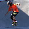Newburyport: Henry Lacey catches some air at the Newburyport Skate Park Saturday afternoon. Jim Vaiknoras/staff photo