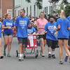 Newburyport: Dave's Raiders Special Olympics Team makes its way to the finish line in the Yankee Homecoming Lions Club Bed Race on Federal Street. Jim Vaiknoras/staff photo
