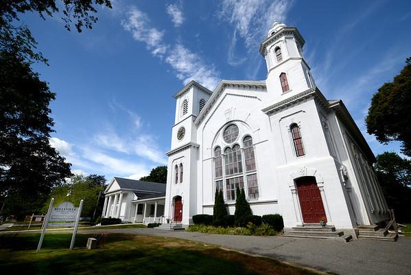 Newburyport: The Belleville Church on High Street in Newburyport. Jim Vaiknoras/staff photo