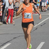 newburyport: High Street mile woman's winner Katie Matthews. Jim Vaiknoras/staff photo
