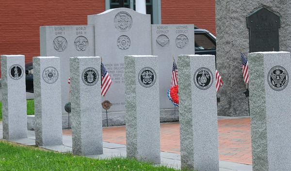 JIM VAIKNORAS/Staff photo  The War Memorial in Brown Square in Newburyport.