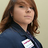 BRYAN EATON/ Staff Photo. Lexie Dupra a part time employee at Newburyport's Market Basket.