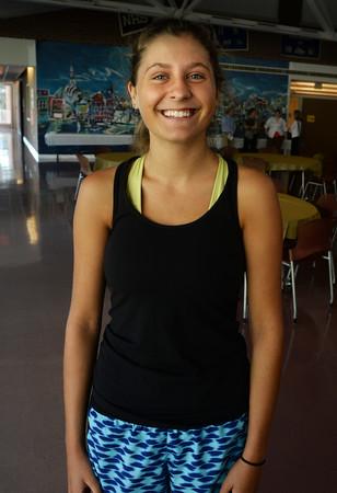 BRYAN EATON/Staff Photo. Newburyport High girls cross country captain Olivia Kearney.