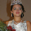 Angeljean Chiaramida/staff photo 2016 Junior Miss Seabrook Kaydynce Marie Franklin  is crowned Saturday night at the Seabrook Community Center.