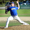 BRYAN EATON/Staff photo. Rowley Rams pitcher Joe White.