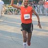 JIM VAIKNORAS/Staff photo Reta Alene male winner of the Yankee Homecoming 10 mile road race Tuesday night.