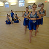 JIM VAIKNORAS/Staff photo In front dancers Michaela O'Leary, Zoe Kerens, and Madison Oullett, in the back ground are Abby Joyce Sarina Wilson, Alli Eawes and Ricky Smith, they are part of the Seacoast Civic Dance Group, an arm of the NH Academy of Performing Arts, invited to perform in Hawaii, at the 75th Anniversary of the attack on Pearl Harbor.