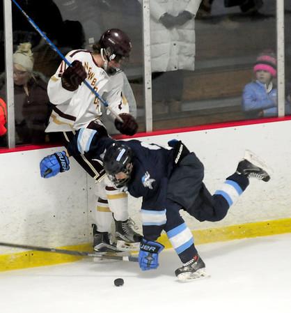 JIM VAIKNORAS/Staff photo Triton 2-1 over Newburyport hockey