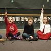 "BRYAN EATON/Staff photo. Pre-kindergartners in Mary Jo Lagana's class sing ""I've Got a Pencil"" in song that reflects their artwork they've done so far this year. They were performing for parents in a Holiday Sing-a-long."