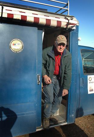 DAVE ROGERS/Staff Photo. Former Newburyport High School principal John Elwell.