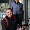 BRYAN EATON/Staff Photo. Newburyport doctor Sadru Hemani, right, with colleague Allan Gathercoal of Idaho who is the founder of Flying Doctors.