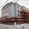 BRYAN EATON/Staff Photo. The new Hampton Inn on Elm Street in Amesbury at the corner of Route 110.
