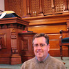 Newbury: Jeff MacDonald has taken over as minister at the First Parish Church in Newbury. Bryan Eaton/Staff Photo