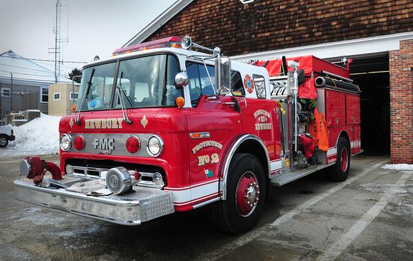 Newbury: Newbury Protection Number Two's Engine 10 is in need of repair. Bryan Eaton/Staff Photo