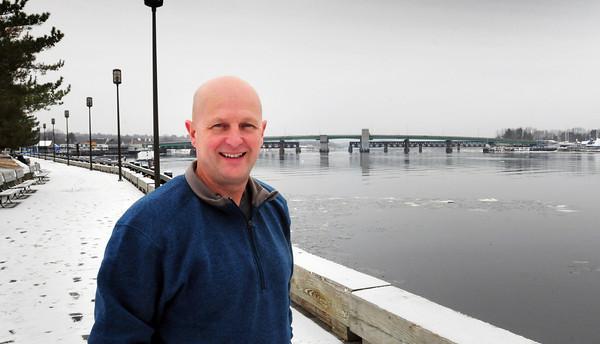 Newburyport: Newburyport city councilor Tom Jones. Bryan Eaton/Staff Photo