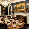 Newburyport: The dining room at Jeanne Petrillo's High Street home in Newburyport. Bryan Eaton/Staff Photo
