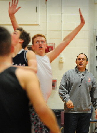 Amesbury: New Amesbury High School boys basketball coach Tom Comeau. Bryan Eaton/Staff Photo