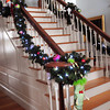 Newbury: The stairway at the front entrance of Judith Martino's home on High Road in Newbury. Bryan Eaton/Staff Photo
