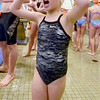 Haverhill: Molly Jordan, 5, gets ready to swim her leg of the 100 meter swim at the 3rd annual Michael J. Horgan Memorial Swim Meet at Haverhill High School Pool  Staurday afternoon. teams competed in different lenth races to raise money for the Michael J. Horgan Memorial Fund in honor of Michael Horgan who died in March of 2011. Jim Vaiknoras/staff photo