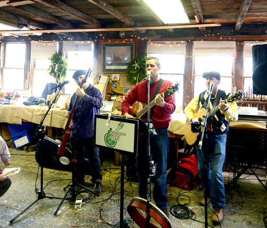 Amesbury: The Demijon Music Clan performs at the Lowell's Boat Shop Open House the past weeknd. Jim Vaiknoras/staff photo