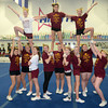 Amesbury: The Newburyport Youth Cheerleading team at All That Cheer and Tumble in Amesbury. Jim Vaiknoras/staff photo