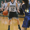 West Newbury: Pentucket's Kelsi McNamara against Notra Dame Academy. Jim Vaiknoras/staff photo